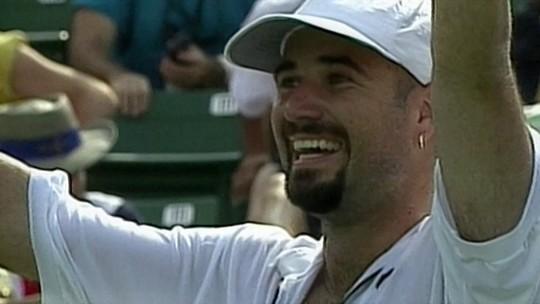 """""""Lendas"""": relembre a história de Andre Agassi"""
