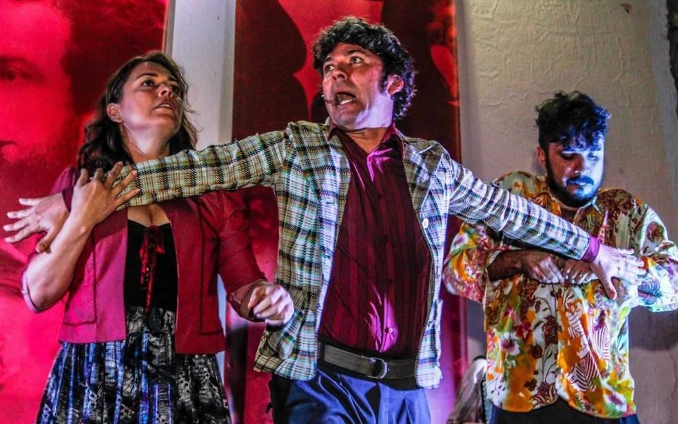 Projeto Prosinha leva teatro Circo da Lona Furada para crianças em Goiânia (Foto: Divulgação/Teatro Sesi)