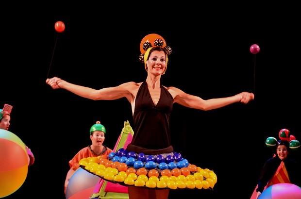 Oras Bolas foi o primeiro espetáculo da Cia Noz (Foto: Divulgação)