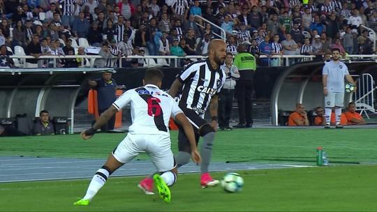 Carli e João Paulo levam terceiro amarelo e desfalcam o Botafogo contra o Avaí