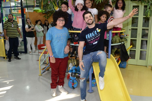 Alok no GRAAC (Foto: Francisco Cepeda/AgNews)