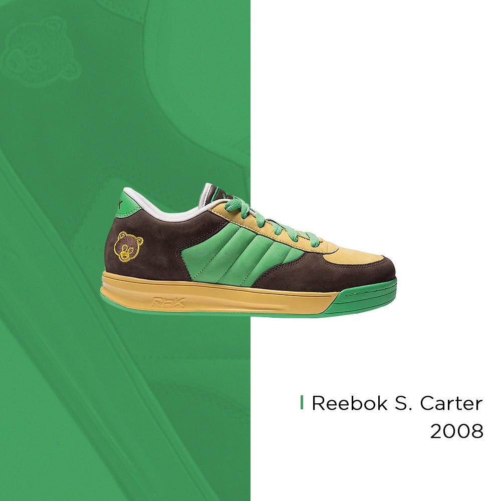 Kanye West x Reebok S. Carter – 2008 (Foto: Reprodução | arte: @matthhenriquee)