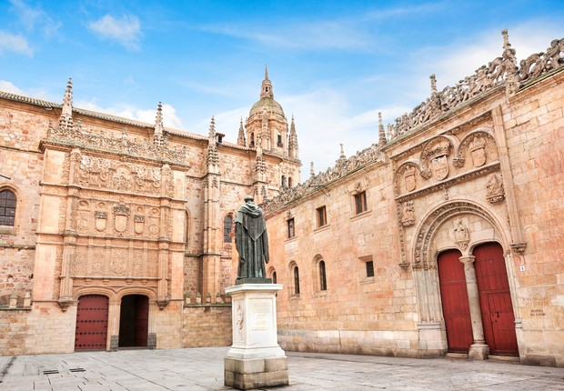 Vista da Universidade de Salamanca (Foto: Thinkstock)