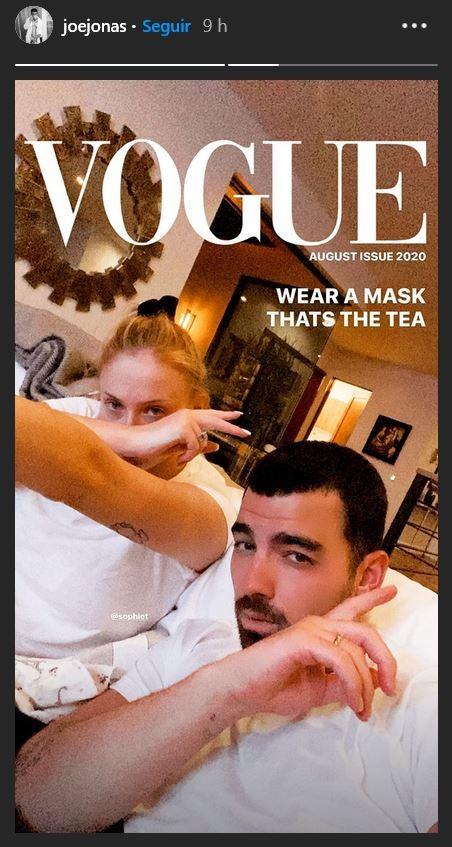 Sophie Turner e Joe Jonas (Foto: Instagram)