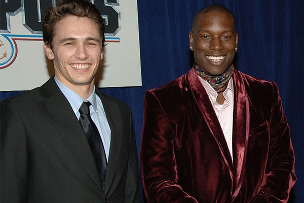 James Franco e Tyrese Gibson (Foto: Getty Images)