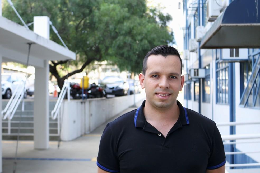 João Paulo desenvolveu a tecnologia durante seu mestrado em engenharia elétrica na EESC. (Foto: Henrique Fontes/SEL-USP)