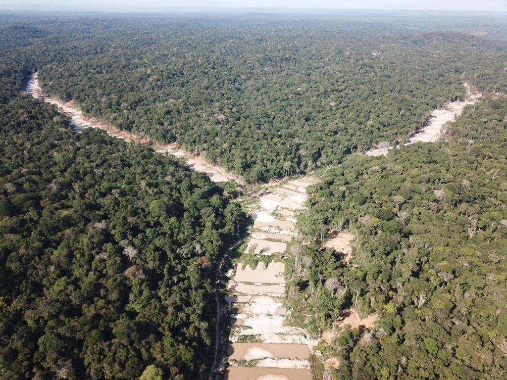 PF prende envolvido com garimpo ilegal dentro da Terra Indígena Munduruku, no Pará