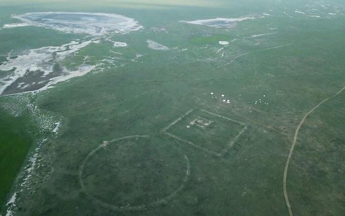 Vista aérea da chamada Linha do Norte (Foto: Universidade Hebraica)