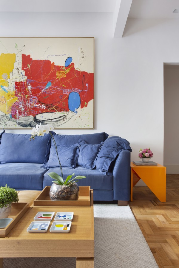 200 m² com cores, leveza e a alegria do Rio de Janeiro  (Foto: FOTOS Denilson Machado/MCA Estúdio)