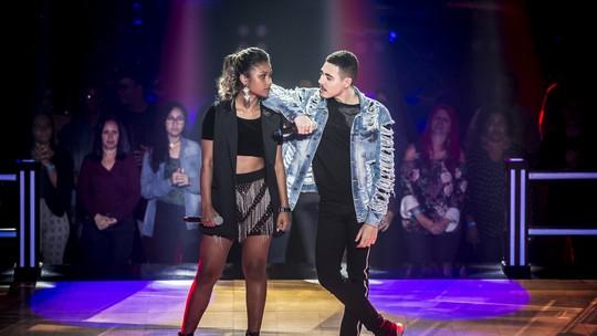 'The Voice Brasil': Letícia Gonçalves e Renan Cavolik criam coreografia para música de Iza nas 'Batalhas'