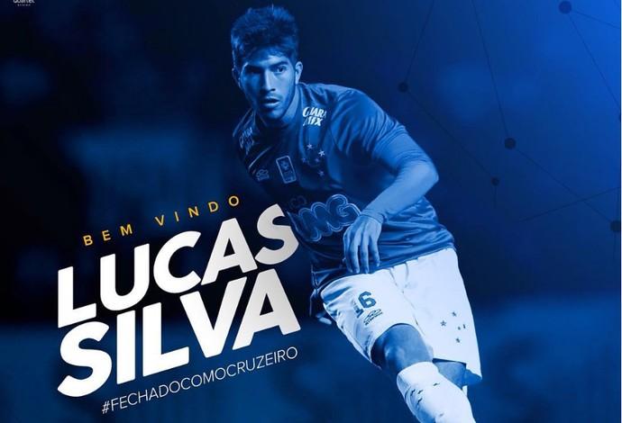 No Instagram, Cruzeiro anuncia retorno de Lucas Silva (Foto: Reprodução / Instagram)