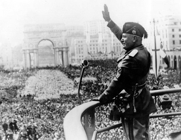 Mussolini (Foto: Getty Images)