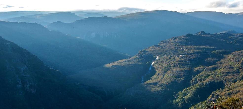 Parque Estadual do Guartelá, em Tibagi — Foto: Prefeitura de Tibagi/Divulgação