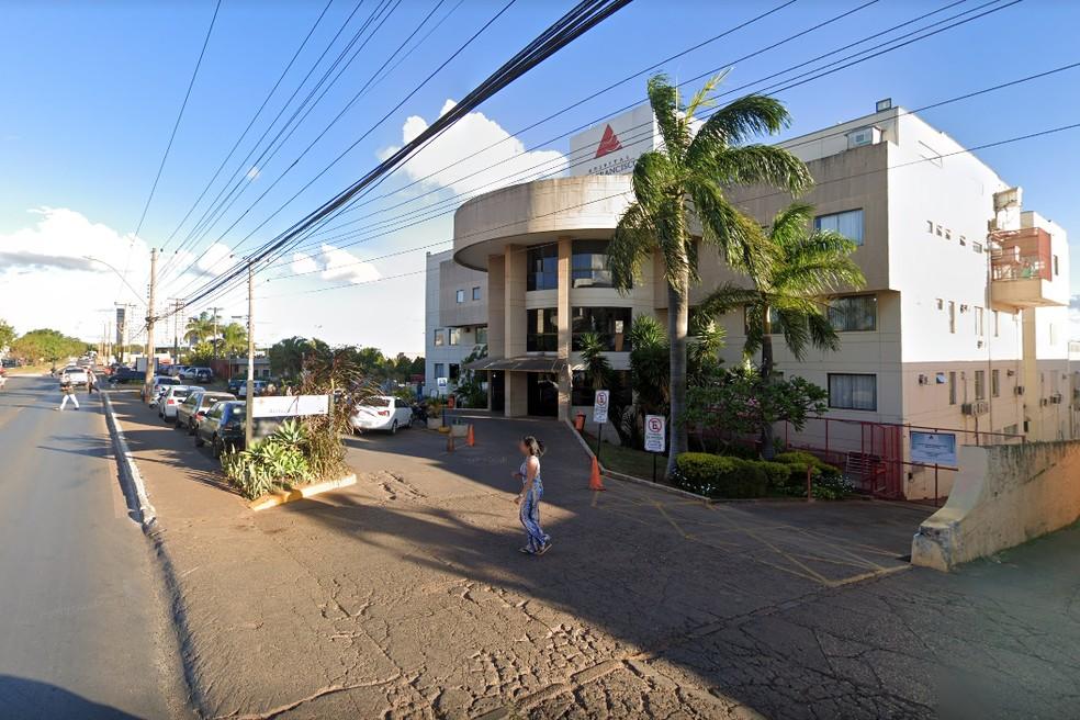 Fachada do Hospital São Francisco, em Ceilândia no DF — Foto: Google/Reprodução