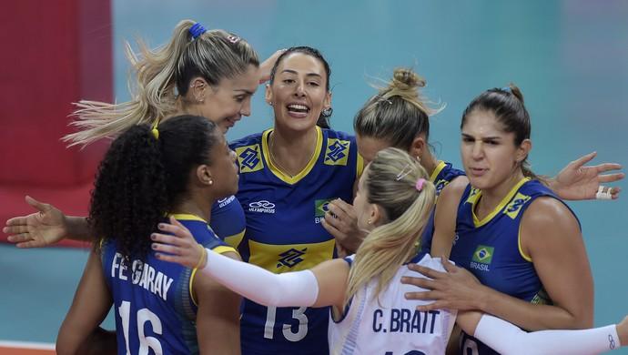 Brasil Itália vôlei Grand Prix (Foto: Divulgação/FIVB)