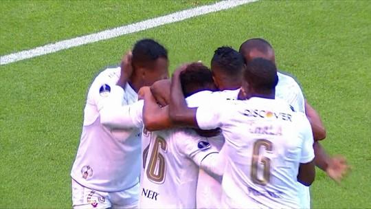 LDU x Vasco - Copa Sul-Americana 2018 - globoesporte.com