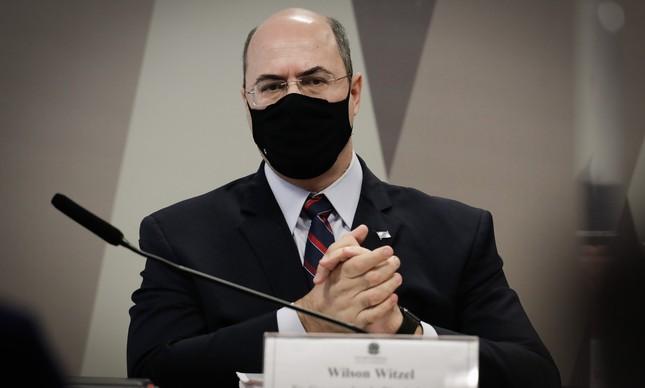 Wilson Witzel, ex-governador do Rio de Janeiro