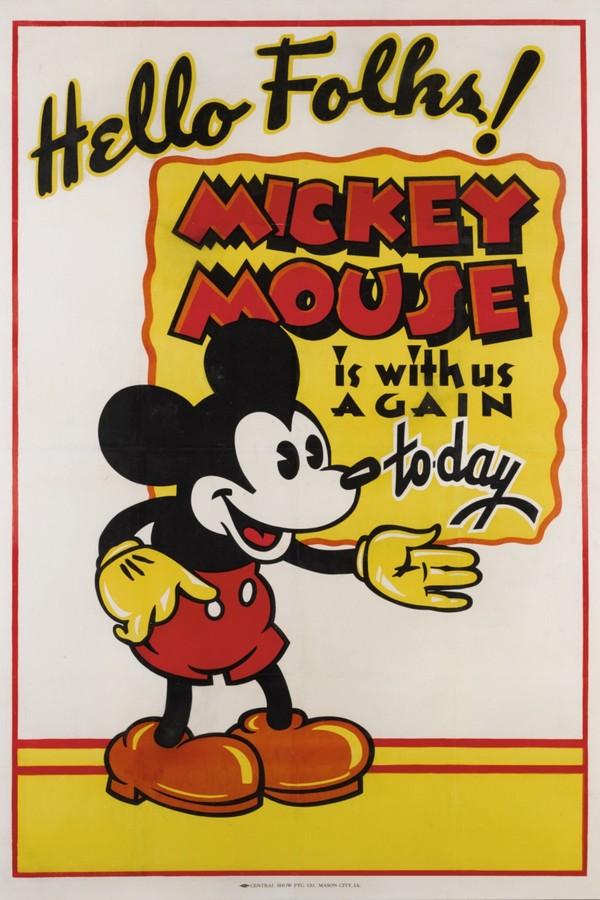 Mickey 1930 (Foto: Divulgação/Sothesby)