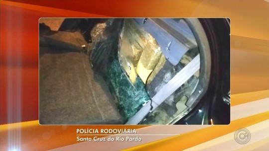 Casal é preso com droga escondida em fundo falso de veículo em Santa Cruz do Rio Pardo