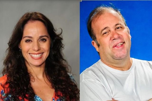 Claudia Mauro e Otávio Muller (Foto: Divulgação)