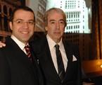 Mário Teixeira e Alcides Nogueira | Globo/Zé Paulo Cardeal