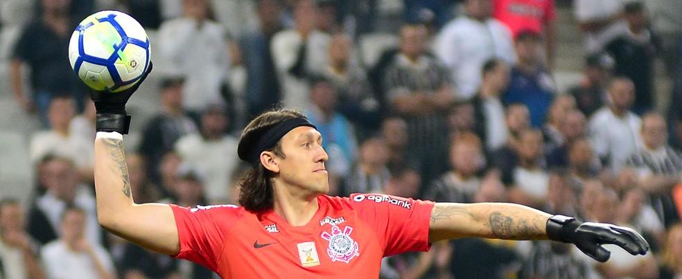 Cássio, do Corinthians (Foto: Bruno Ulivieri/Estadão Conteúdo)
