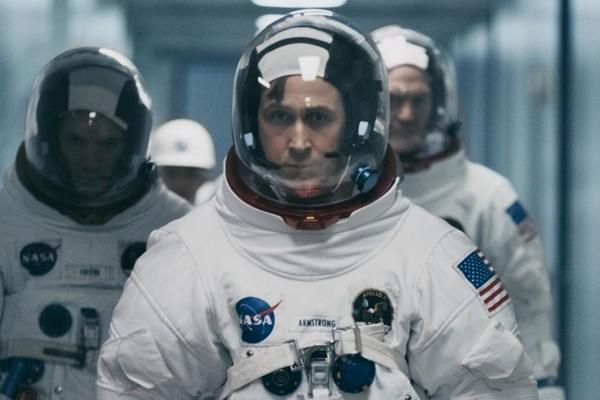 O ator Ryan Gosling em cena de O Primeiro Homem (2018) (Foto: Reprodução)