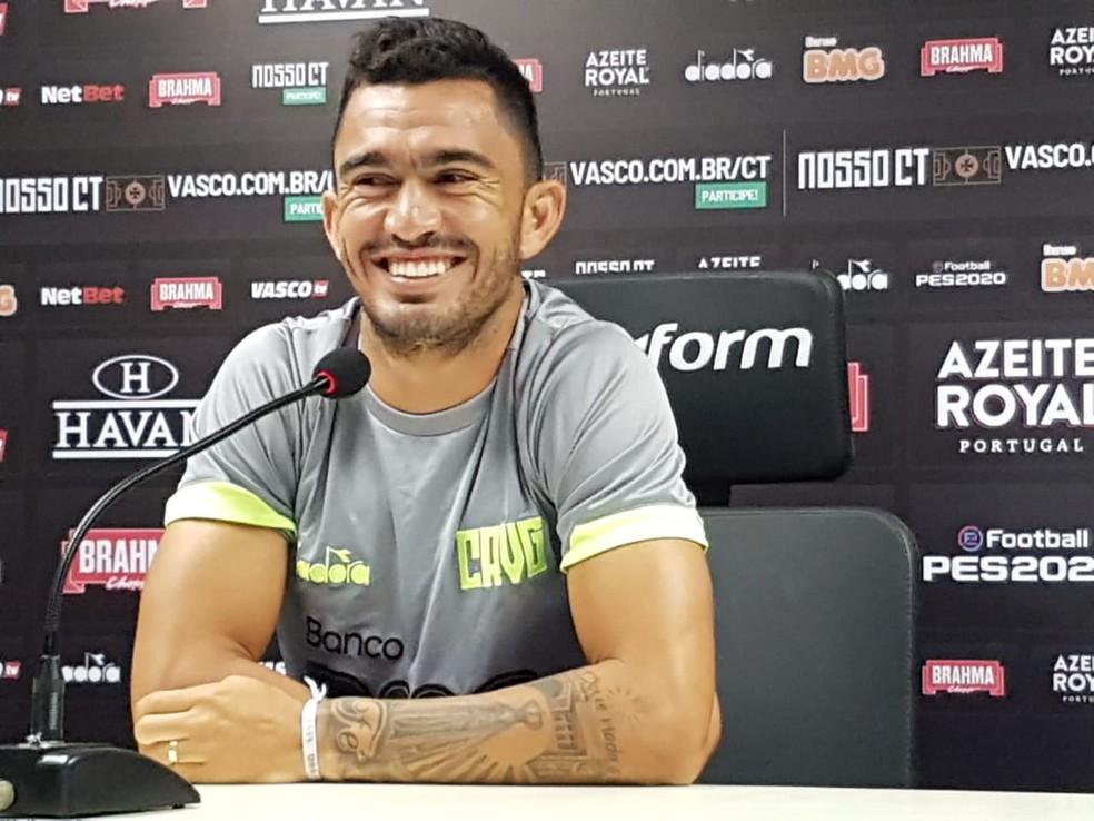 Raul, do Vasco — Foto: Marcelo Baltar