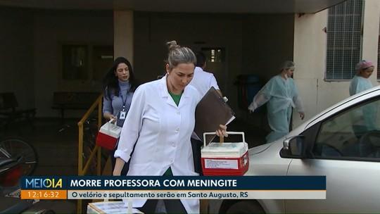 Professora com meningite morre e tem os órgãos doados pela família