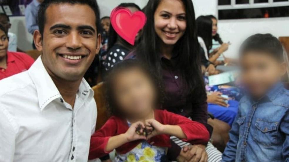 Família de homem assassinado pede justiça pelo crime, no ES — Foto: Reprodução/ TV Gazeta