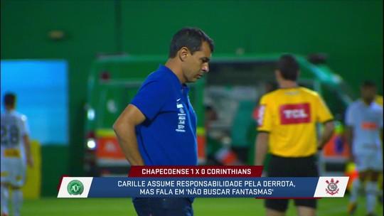 Seca de gols do Corinthians preocupa Carille, que projeta melhora para final do Paulista