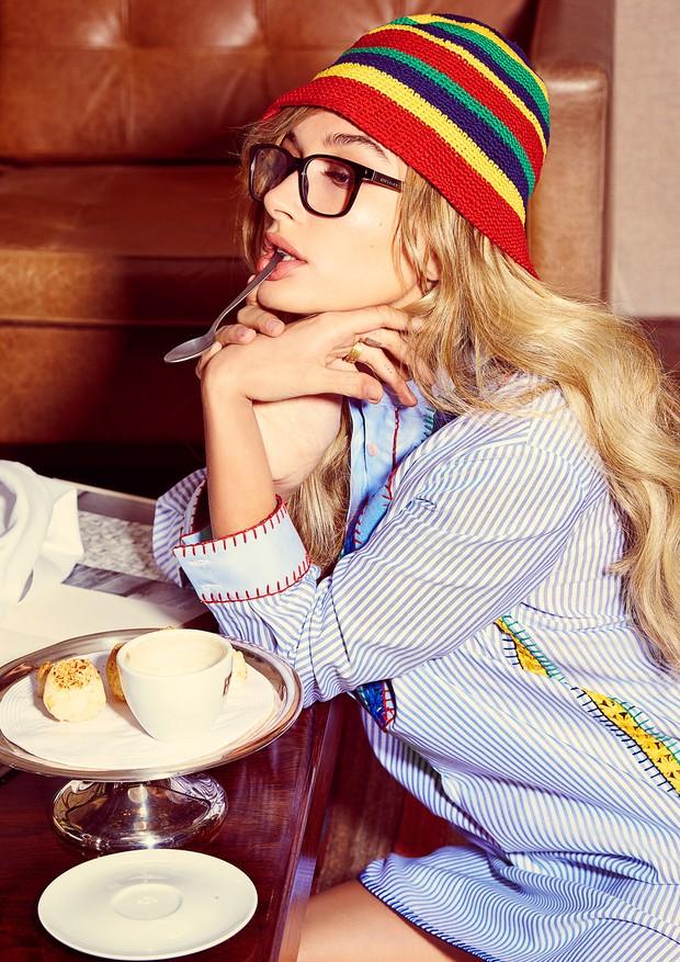 Hailey Baldwin (Foto: Arquivo Vogue/ Manuel Nogueira)