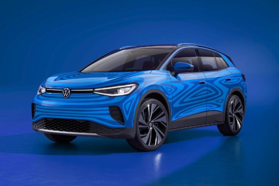 Volkswagen ID.4 será lançado ainda em 2020 (Foto: Divulgação/Volkswagen)