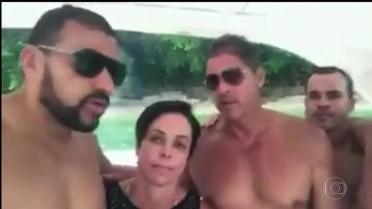 Homem que aparece em vídeo com Cristiane Brasil em lancha também foi alvo de ações trabalhistas no RJ
