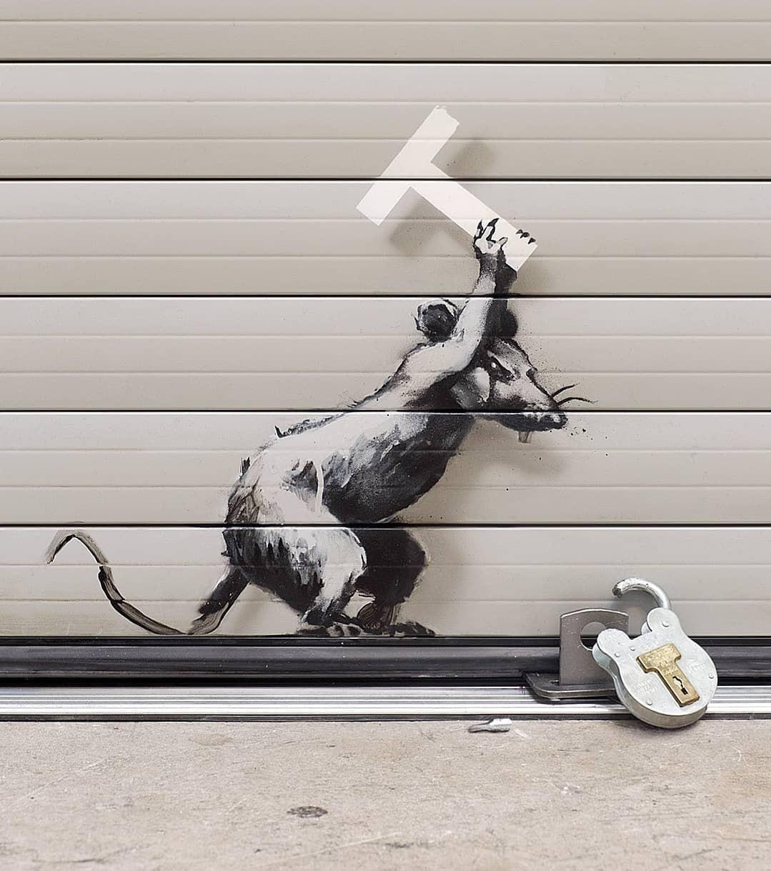Banksy revela nova obra anti-Brexit em Londres (Foto: Divulgação)