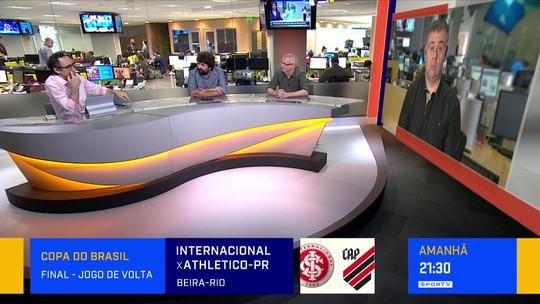 """Comentarista analisa declaração de Tiago Nunes: """"Futebol tem seus momentos de vazio e esgotamento"""""""