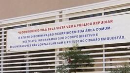 SP: condomínio repudia morador após ofensas (Reprodução/EPTV)