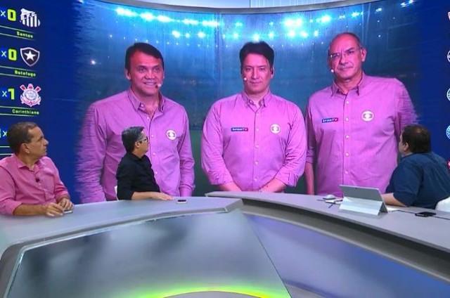 Programa 'Troca de passes', no SporTV (Foto: Reprodução)