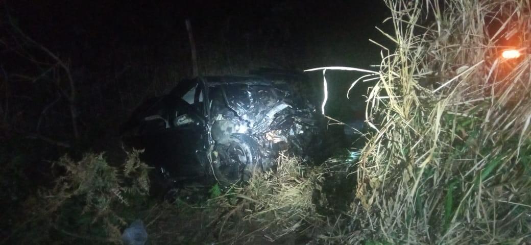 Homem morre e outras 4 pessoas ficam gravemente feridas em acidente na BR-376, em Ponta Grossa