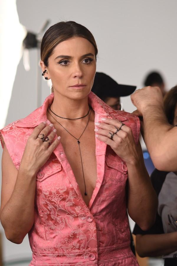 Giovanna Antonelli e suas joias para a Romannel (Foto: Lu Prezia/divulgação)