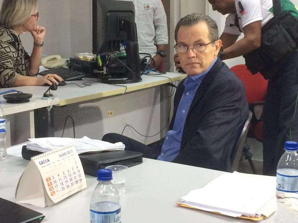 Ex-governador Silval Barbosa confessou ter recebido propina — Foto: André Souza/G1