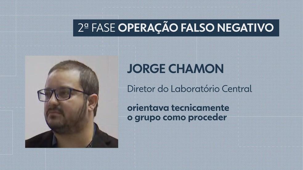 Jorge Antônio Chamon Júnior — Foto: TV Globo/Reprodução