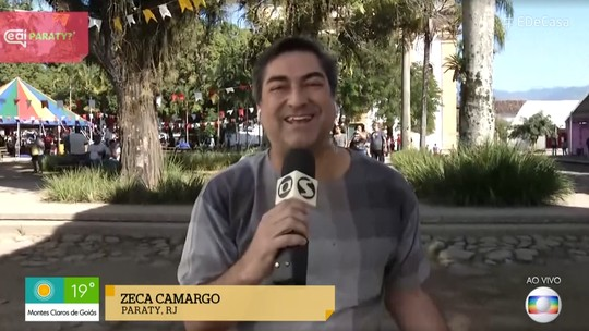 Zeca Camargo indica livro e fala das novidades da Flip no 'É de Casa': 'Festa do saber'