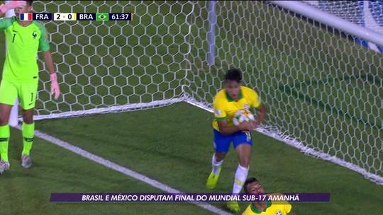 Caio Jorge comanda o Brasil contra o México na final do Mundial Sub-17
