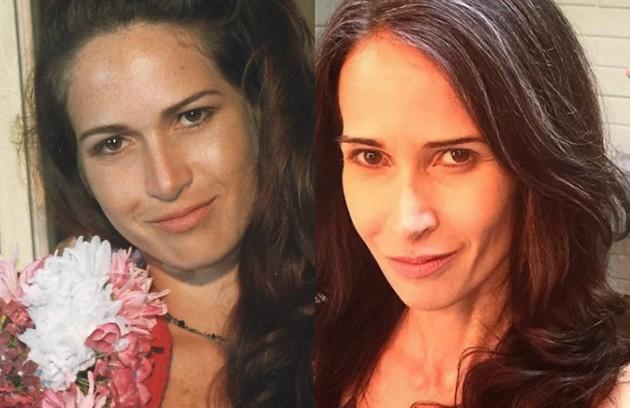 Ingra Lyberato viveu Paraguaya, uma das meninas do bordel de Zenilda (Renata Sorrah). A atriz está no elenco da série 'Chuteira preta', de Paulo Nascimento (Foto: Reprodução )