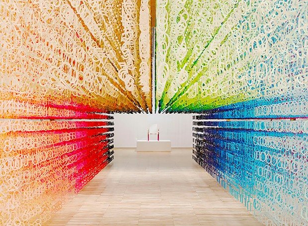Passagem do tempo através das cores em Toyama (Foto: Divulgação)