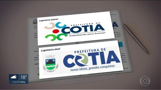 Justiça proíbe logotipo da Prefeitura de Cotia que sugere inicial do nome do prefeito