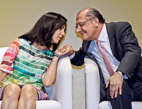 Alckmin e a mulher, Maria Lúcia, uma união de 39 anos. O governador e o cunhado mantêm relação de confiança há décadas (Foto: Maria Lúcia)