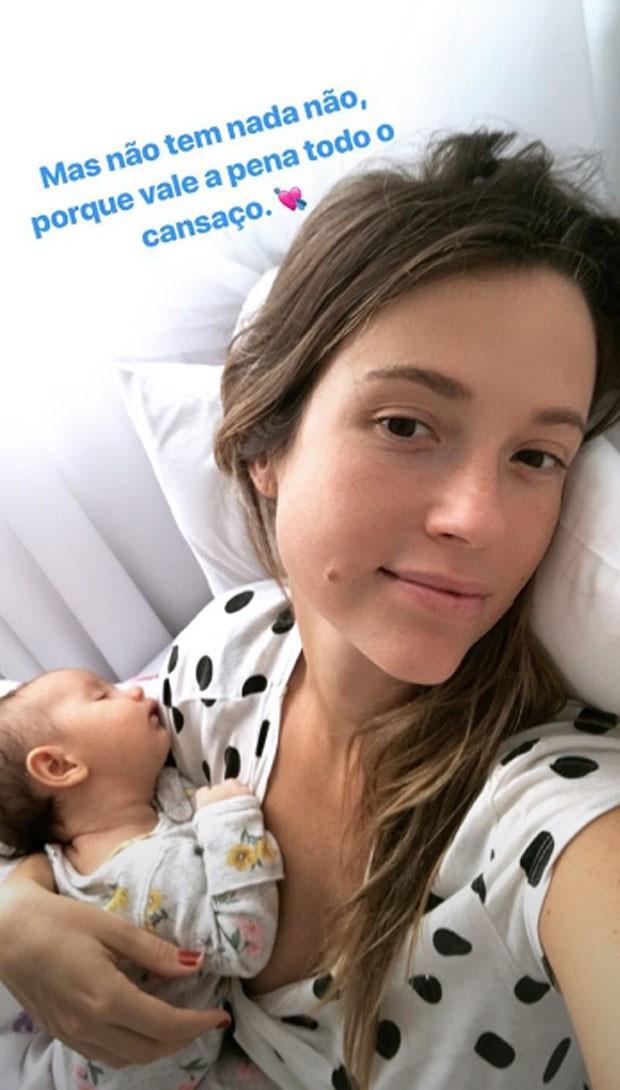 Juliana Didone e filha (Foto: Reprodução)