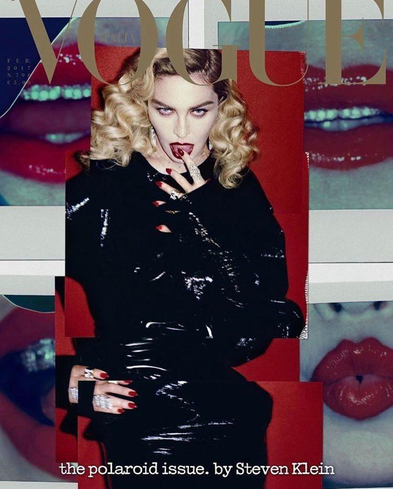 Madonna by Steven Klein para Vogue Italia - Fevereiro 2017 (Foto: Reprodução )